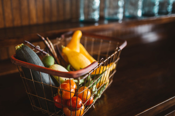 Vegetbles in Basket - Credit Unsplash