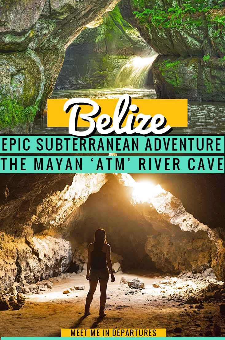 The ATM Cave Belize is a MUST for every adventure seeker. Cross rivers & jungle, enter the subterranean world to discover 1000-year-old Mayan sacrifice chamber. Find out about a real life Indiana Jones adventure at the ATM Cave Belize on this epic fully immersive adventure day. An adrenalin junkies dream; this tour is NOT for the faint-hearted. #Belize #CentralAmerica #Adventure #Mayan