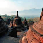 Borobudur at sunrise 1