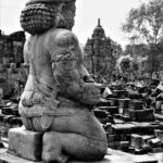Prambanan bottom carving