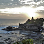 Tanah Lot at sunset 1
