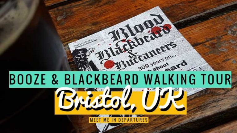 Bristol Walking Tour - Blood, Blackbeard and Buccaneers - Bristol Historical Dockside Walk #Bristol #WalkingTour