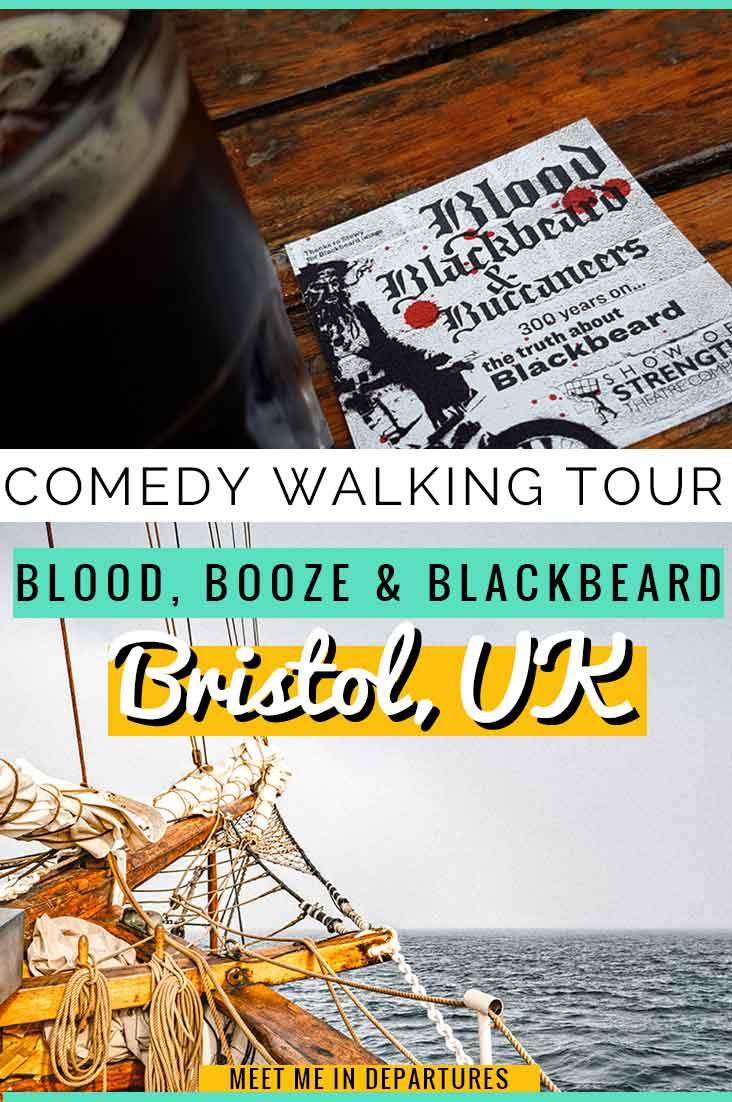 Bristol Walking Tour - Blood, Blackbeard and Buccaneers - Bristol Historical Dockside Walk #Bristol #WalkingTour