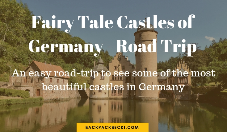 Road trip from Cologne, Germany, to see the Beautiful Casltes of Germany. German Road Trip to See Fairytale Castles. Bavarian Casltes of Germany. Heidelberg, Neuschwanstein. UNESCO World Heretiage sites. The famous Castles of Germany should be on your bucket list for Germany. #Euroventure #EuroTrip #CastleRuins #FairytaleCastles #Germany #RoadTripGermany #Ruins #UNESCO #UNESCOWorldHeretige #GermanCastles #CastlesOfGermany #GermanRoadTrip #SoloTravel #Backpacking #Bucketlist #IconicStructures #TravelBloggers #BackpackBecki