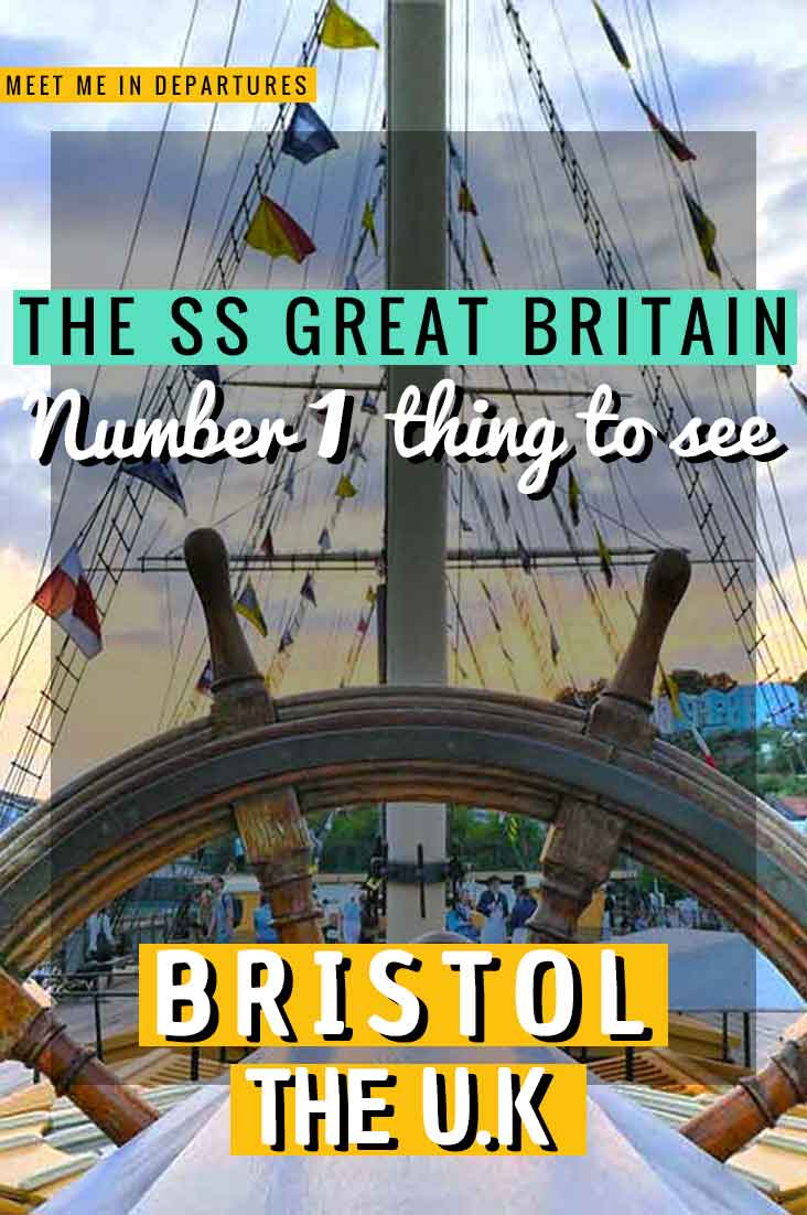 The Bristol SS Great Britain, built by Isambard Kingdom Brunel recently turned 175! Find out why you should visit Bristol's No.1 Attraction. #Bristol #UK #SSGreatBritain
