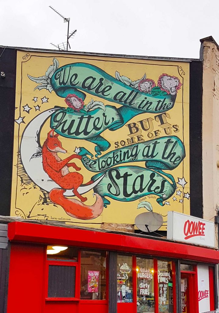 Stokes Croft Bristol, Welcomes to Bristol's Cultural Quarter. Street Art and Soulful Stories. Featuring the Artwork of Banksy, Lucas Antix, Toof, Rowdy - #Grafitti #StokesCroft #StokesCroftAndMontpellier #StreetArt #UrbanArt #BristolCity #VisitBristol #CityBreaks #PRSC #PeroplesRepublicOfStokesCroft #BackpackingEurope #BackpackBecki