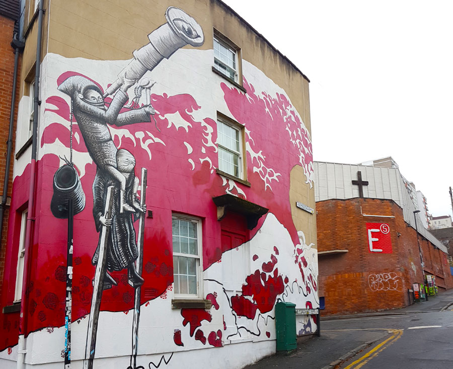 Stokes Croft Bristol - Street Art and Soulful Stories 1