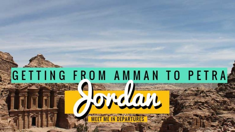 Amman to Petra, 3 easy ways for every budget to get to the UNESCO site of Petra from Jordan's capital, Amman. Easy transport options for getting around Jordan for every budget. #MiddleEast #Jordan #Petra #Amman