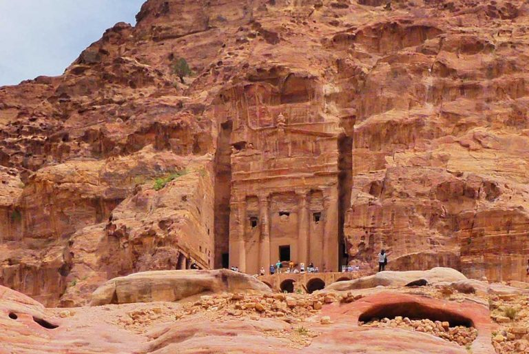 The-Urn-Tomb-at-Petra-Optimised
