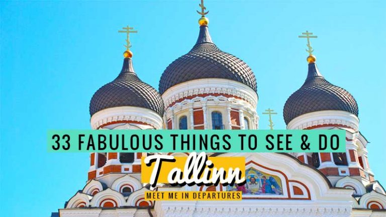 Visiting Estonia and not sure on what to do in Tallinn? Here are 33 amazing things to do on your Tallinn Itinerary, how many are you adding to your list? The Beautiful Capital of Estonia. Listed as a UNESCO World Heritage Site, use this gude to help you decide what to do on a short city break #Estonia #Tallinn #Europe