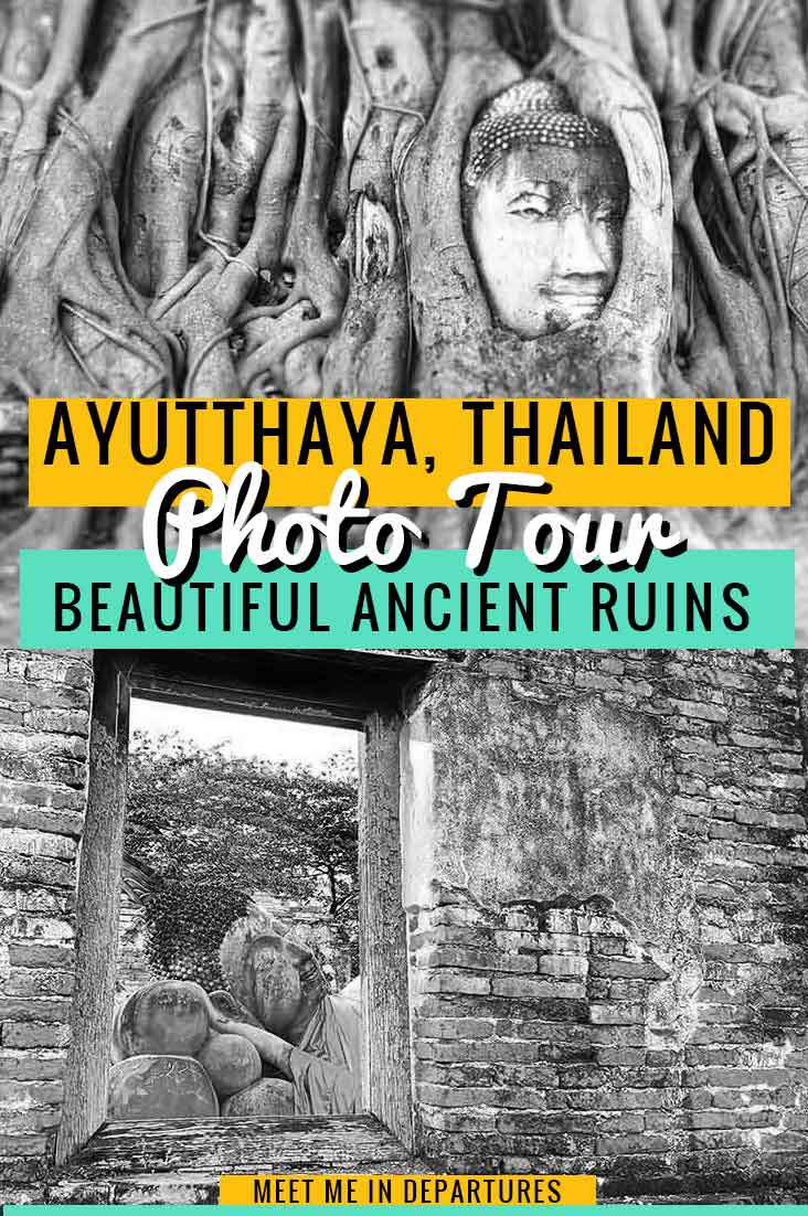 Photo tour of UNESCO listed Ayutthaya, the ancient kingdom of Siam in Thailand. Beautiful Ayutthaya photos featuring highlights from the historical park. These beautiful Ayutthaya photos feature some of the highlights from the historical park, which is also an easy day trip from the Thai capital of Bangkok. #Ayutthaya #Thailand #UNESCO #Ruins