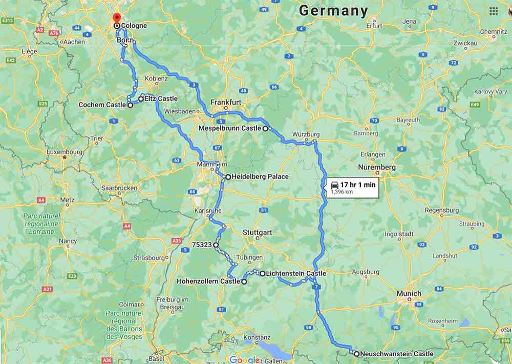 Fairytale castles of Germany - An awesome 7 day southern Germany road-trip 2