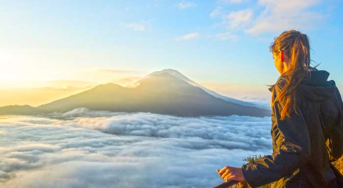 Bali Bucket List Mount Batur Sunrse hike by Ashley Jansen
