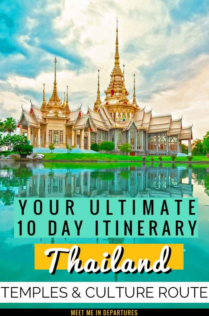 Find your ULTIMATE 10 Day Thailand Itinerary - Four tried & tested different options for you to experience the perfect 10 days in Thailand + INFOGRAPHIC MAPS. Choose from the Classic Thailand 10 day itinerary, the Temples in 10 days in Thailand itinerary, the Adventurous Thailand itinerary or beach hopping in Thailand 10 day itinerary. #Thailand #SEAsia #LivingMyBestLife