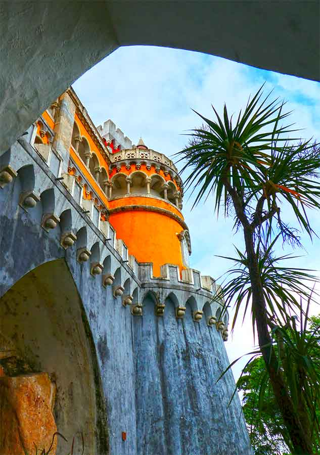 Visit Portugal's most beautiful fairytale castles on a fully packed Lisbon to Sintra day trip. Everything you need to know about spending one day in Sintra. All the best things to see in Sintra are included in this full-on Sintra Itinerary. Includes getting to Sintra, and visiting Pena Palace. #Portugal #Lisbon #Sintra #PenaPalace