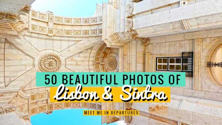 This Lisbon photo tour showcases 50 Stunning photos of Lisbon & Sintra to give you wanderlust. Instagrammable places in Lisbon, pictures of Lisbon, Portugal's capital and the fairytale castles of Sintra. Photo tour Lisbon and pictures of Sintra #Potugal #Lisbon #Sintra