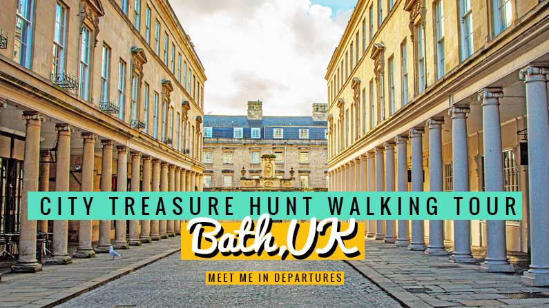 Bath Treasure Hunt – A City Scavenger Hunt With The Great Game