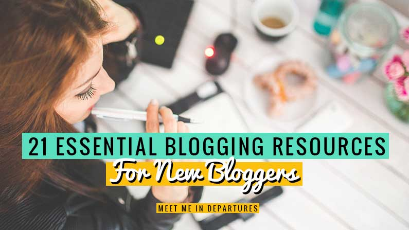 The best blogging tools for beginners. 21 essential blogging resources you need to give your new blog the best chance of success. Lots of them are FREE too! Find out what the best blogging tools are along with lots of tips for beginner bloggers. All the tools you need to know about to start a blog. #Blogging #BlogTools #DigitalNomad #GirlBoss