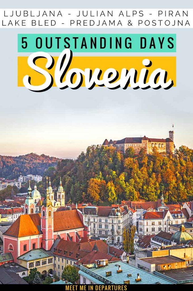 Wondering what to see in Slovenia in 5 days? This full-on itinerary tells you everything you need to know about an amazing 5 days in Slovenia itinerary. All the best things to do in Slovenia including Lake Bled and Ljubljana. Perfect ideas for 5 days Slovenia travel in this Slovenia road trip. Use this Slovenia travel guide to plan your trip to Slovenia. Ideas to add yo your Slovenia bucket list. #sLOVEnia #visitSlovenia #Europe #LakeBled #Ljubljana #EasternEurope