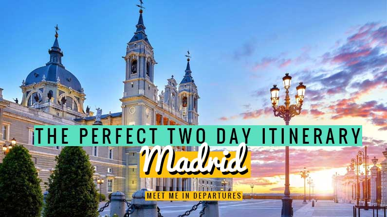 An insiders guide for the perfect Madrid 2 days itinerary complete with MAP and CHECKLIST find out how to see all the highlights in 48 hours in Madrid | Madrid Spain | Madrid Itinerary 2 days | 2 days in Madrid Itinerary | Things to do in Madrid | visiting Madrid | what to see in Madrid | Madrid itinerary | City break to Madrid | Madrid itinerary map #Spain #Madird #VisitMadrid