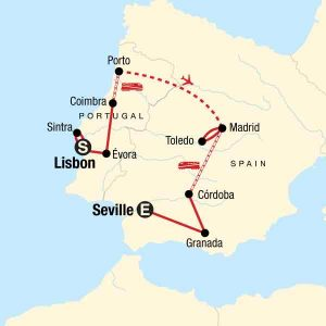Visiting Portugal or Spain? Spain and Portugal Itinerary 2 weeks | Spain and Portugal Travel Itinerary | Two weeks in Spain and Portugal | Portugal and Spain Road Trip | Portugal and Spin Backpacking | Small group tours to Spain and Portugal | Spain Itinerary | Portugal Itinerary | Things to see in Spain | Things to see in Portugal | Portugal Guide | Spain Guide #Portugal #Spain