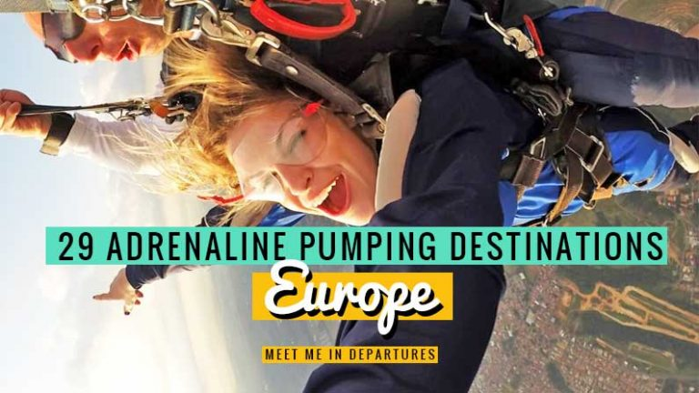 Are you a thrill-seeker? Then check out these 29 Best Adventure Holidays in Europe | Adventure Sports In Europe | Adventure Trips in Europe | Europe Itinerary | Europe Travel Guide | Adventure Tourism Europe | Adventure Holiday In Europe | Canyoning In Europe | Adventure Trips In Europe | Best Things To Do In Europe | Europe Bucket List | Adventure Bucket List | Adventure Travel Europe | Adventure Travel Destinations Europe | #Adventure #AdrenalineJunkie #VisitEurope #EuropeBucketList
