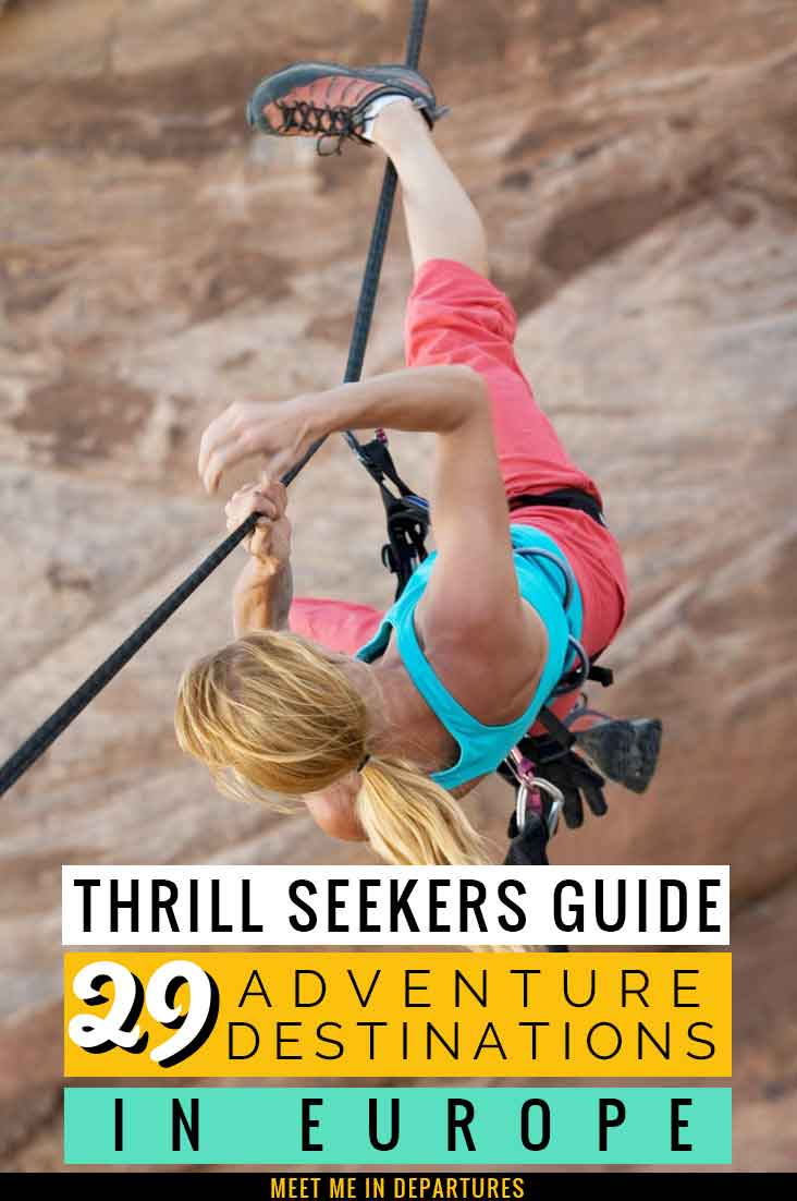 A Thrill Seekers Guide: The 29 Best Adventure Holidays in Europe for Adrenaline Junkies 1