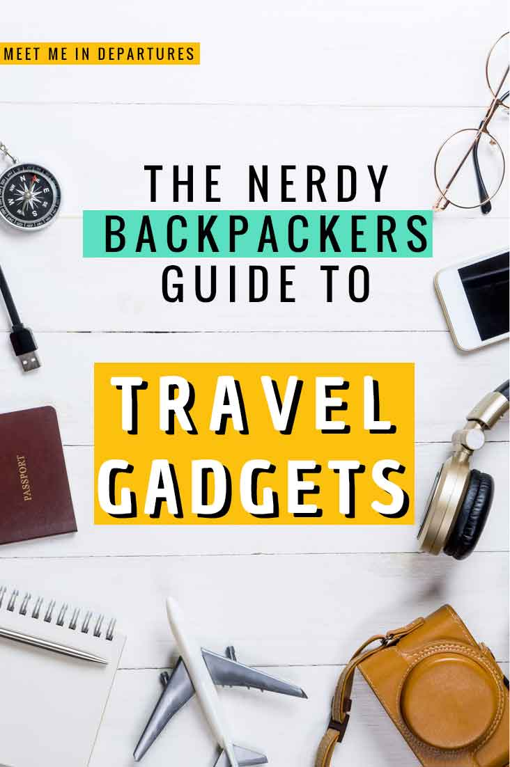 10 of the Best Travel Gadgets for Backpackers & Travellers 1