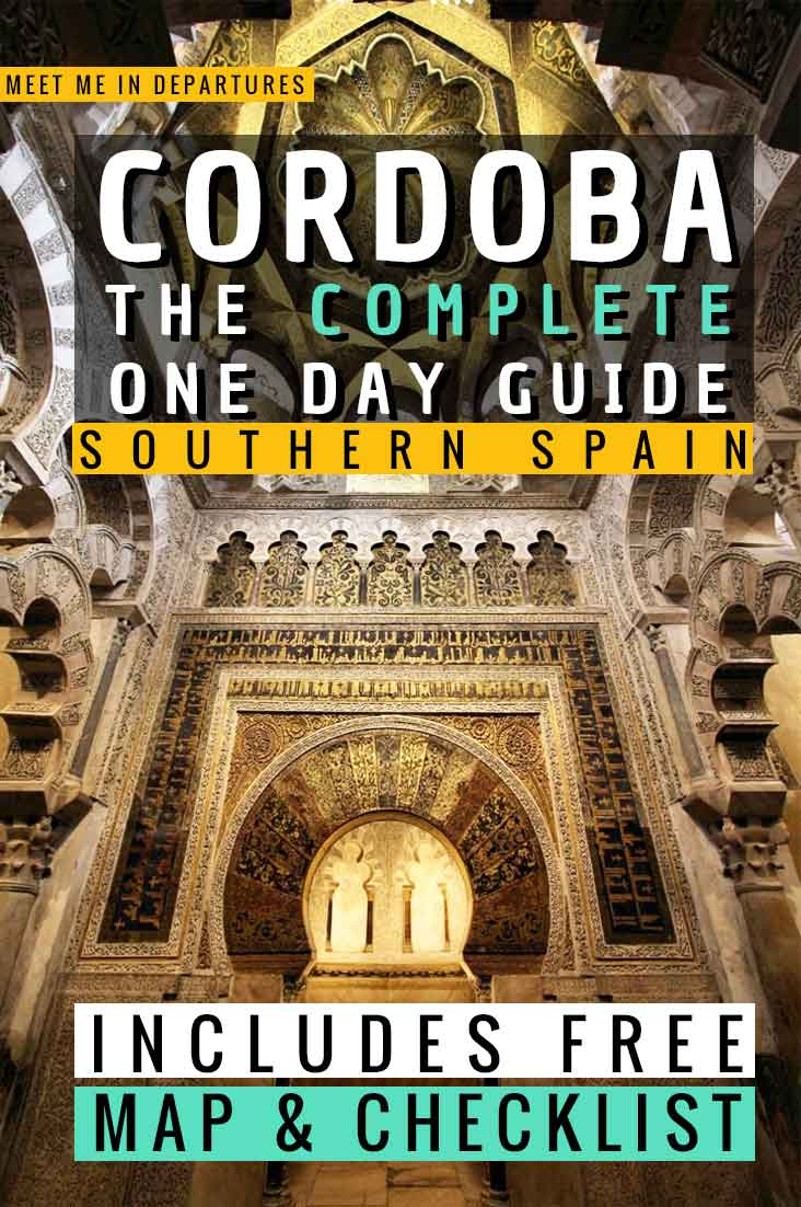 Seville to Cordoba Day Trip | The Perfect One Day in Cordoba Itinerary 8