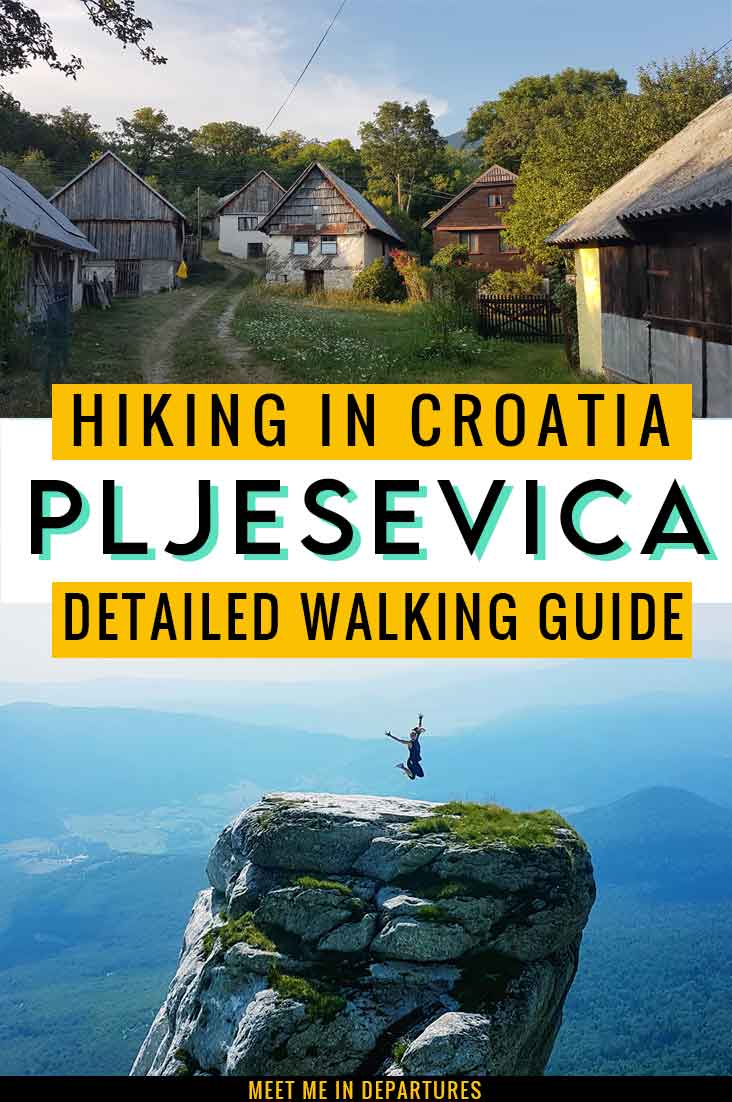 The Pljesevica Mountain Trek: On Top Of The World In The Croatian Mountains! 2