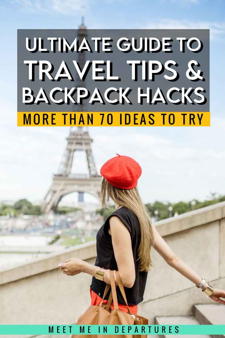 Complete Guide To Backpacking Hacks | 70+ Tried & Tested Backpack Hacks & Travel Tips to try now 3