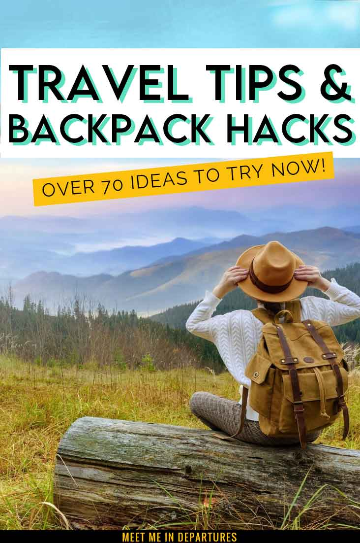 Complete Guide To Backpacking Hacks | 70+ Tried & Tested Backpack Hacks & Travel Tips to try now 1