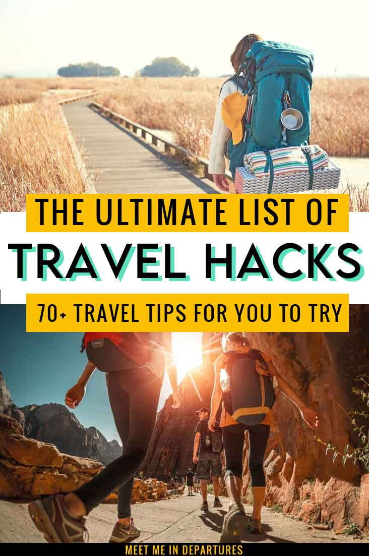 Complete Guide To Backpacking Hacks | 70+ Tried & Tested Backpack Hacks & Travel Tips to try now 2