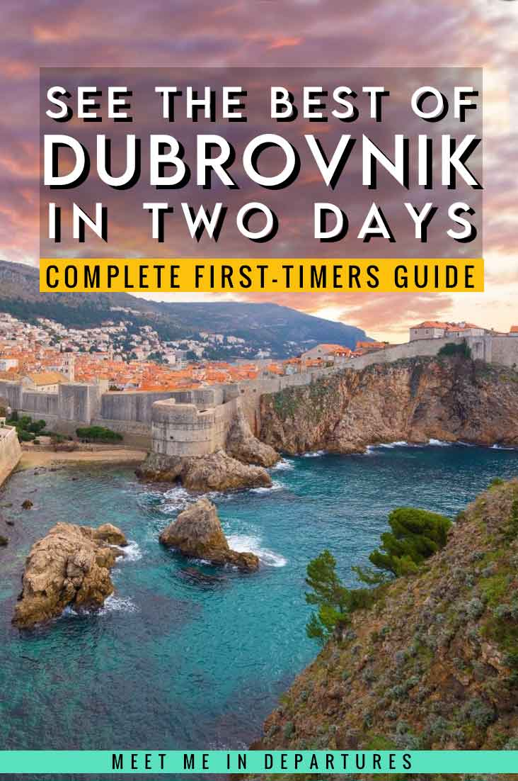 A First-Timers Guide to Dubrovnik in Two Days: The Complete Dubrovnik 2 Day Itinerary 1