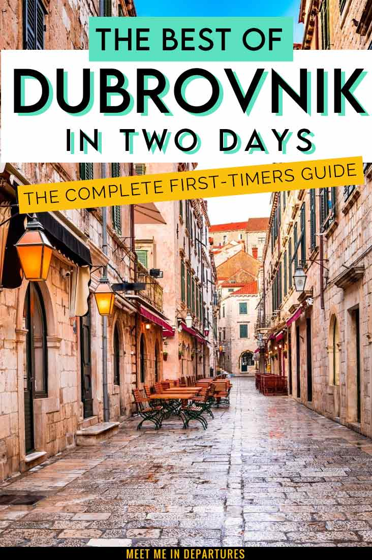 A First-Timers Guide to Dubrovnik in Two Days: The Complete Dubrovnik 2 Day Itinerary 3