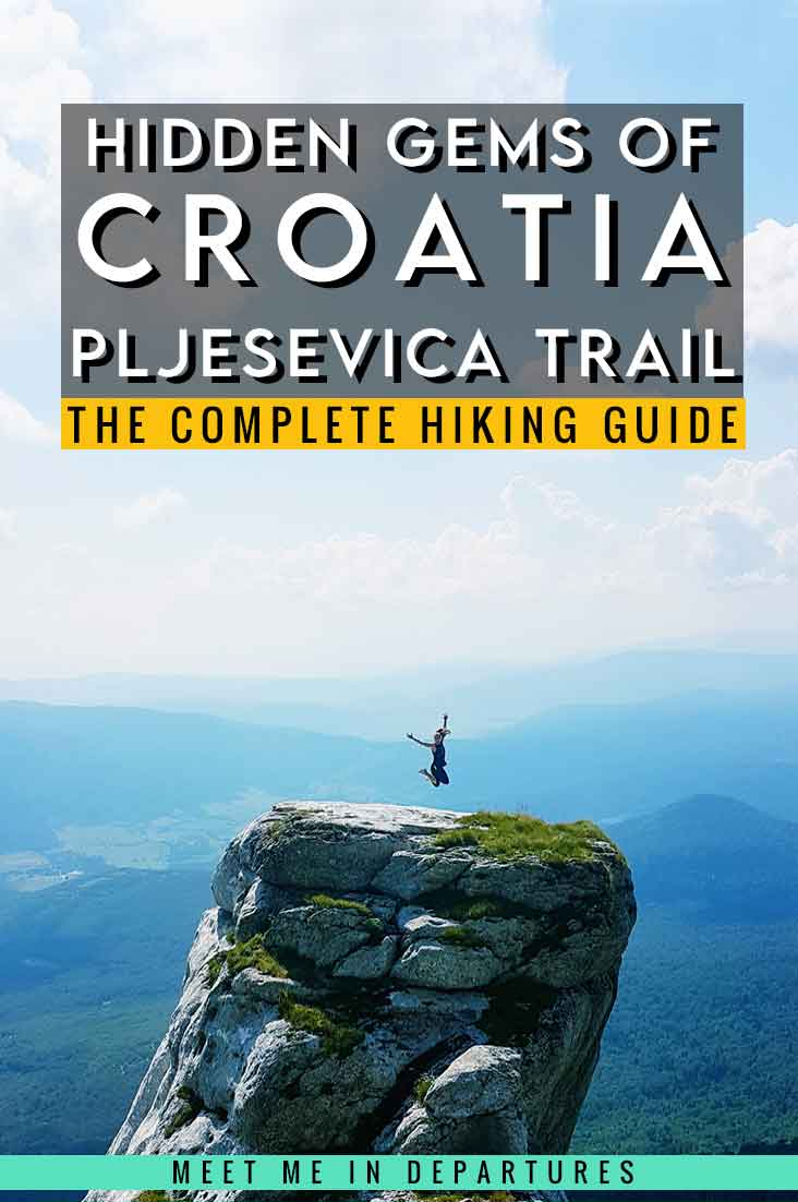 The Pljesevica Mountain Trek: On Top Of The World In The Croatian Mountains! 3