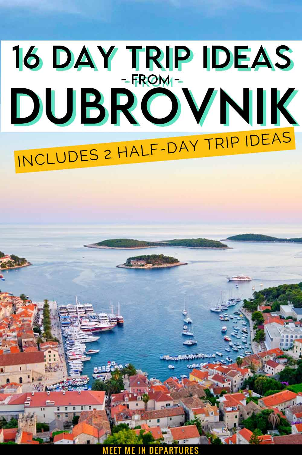 16 Outstanding Day Trips from Dubrovnik + 2 Half Day Dubrovnik Excursions 1