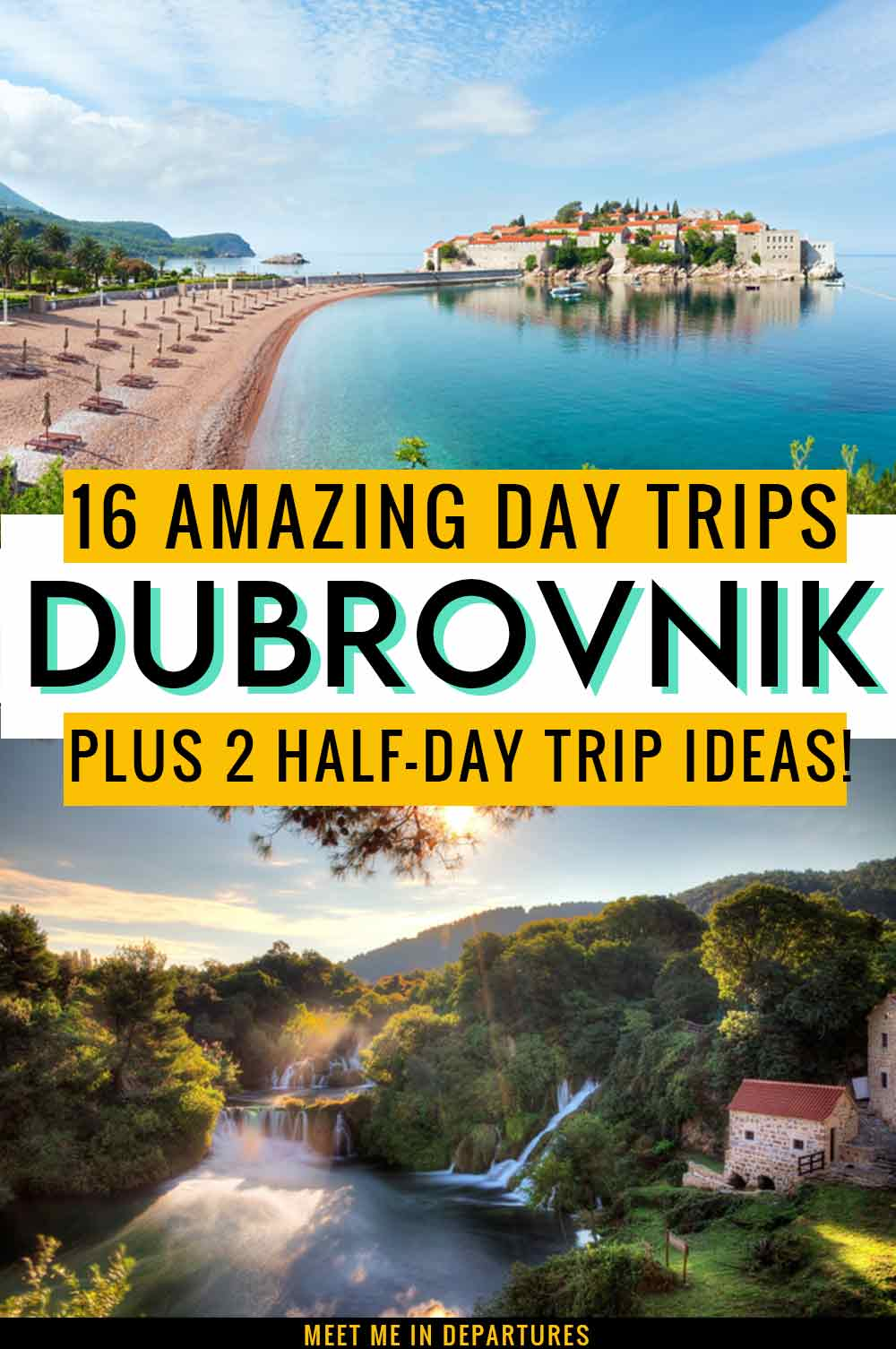 16 Outstanding Day Trips from Dubrovnik + 2 Half Day Dubrovnik Excursions 2